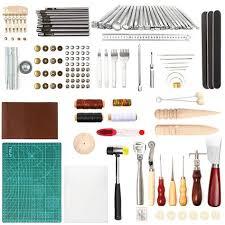 lamptop 92pcs leather crafting tools