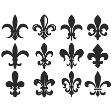 The Decal Guru Fleur Du Lis Pattern Wall Decal Wayfair
