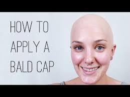 paint a plastic bald cap