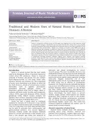 modern uses of natural honey