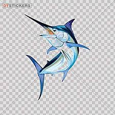Marlin Deep Sea Fishing Decal Sticker For Car Window Boat Boating Ocean Decor Home Garden Decor Decals Stickers Vinyl Art Ayianapatriathlon Com