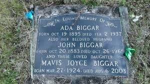 Ada Strongman/Biggar (Meyer) (1895 - 1937) - Genealogy