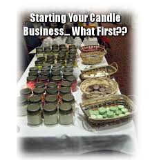 sell your homemade soy candles