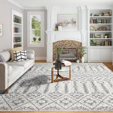 Shag Soft Area Rugs 8 X 10 Tufting Carpets Rugs For Dining Room Living Room Kidsroom Walmart Com Walmart Com