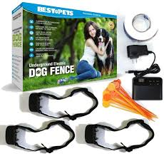 Hidden Underground Electric Dog Fence Invisible With Shock Collar Waterproof Hidden System In Ground Perimeter Fence Flags Shock Collar Dog Fence Dogs