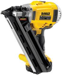 Dewalt 18v Li Ion Cordless Brushless 90mm Framing Nailer With 2 X 5ah Batteries Amazon Co Uk Diy Tools