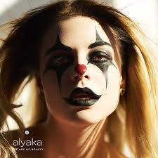 creepy clown makeup alyaka
