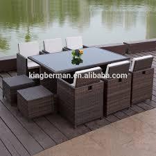 rattan woven outdoor furniture