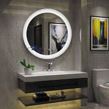 bathroom mirrors with built in led lights