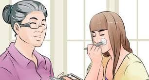dad if you can wear makeup saubhaya