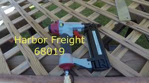 Harbor Freight Tools With Lattice Work Youtube