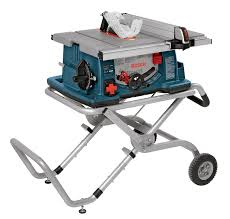 Bosch 4 2 5 Hp 10 Worksite Table Saw With Gravity Rise Wheeled Stand 4100 09