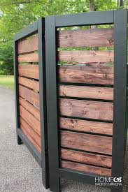 Garbage Can Privacy Screen Home Made By Carmona Decor Exterieur Amenagement Jardin Projets De Jardins