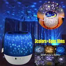 Led Baby Kids Room Night Rainbow Projector Color Light Romantic Lamp Toy For Sale Online Ebay