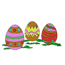 How to Draw Easter Eggs - Really Easy Drawing Tutorial