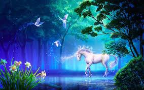 hd wallpaper beautiful unicorn in