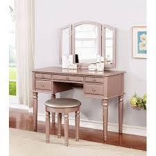 bobkona st croix 3 fold mirror vanity