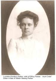 Lucretia Ida Parker (Gordon) (1882 - 1969) - Genealogy
