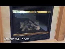 how to clean fireplace glass get rid