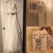 david s bridal wedding dress