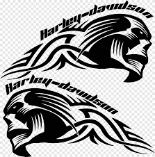 Harley Davidson Illustration Harley Davidson Decal Motorcycle Helmets Sticker Skull Biker Mammal Carnivoran Png Pngegg