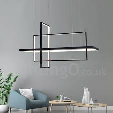 dimmable linear pendant light with