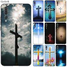 Desxz Silicone Cell Phone Case Bible Jesus Christ Christian Cross For Huawei Honor 7a 7c 7x 8 8x 8c 9 Note 10 Lite Cover All Christian Gifts