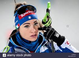 Ostersund, Sweden. 25th Nov, 2017. Biathlete Dorothea Wierer of ...
