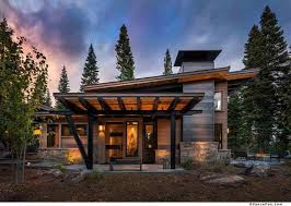 modern mountain retreat is ideal place