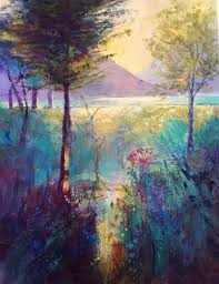 Letitia Smith-Burnett paintings & prints: Beside Loch Eck
