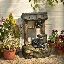 brundle gardener small wishing well