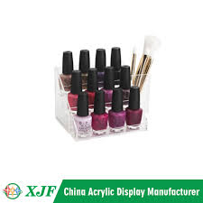 acrylic nail polish table rack