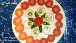 salad plate decoration ramadan