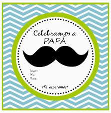 Invitacion Por El Dia Del Padre Para Imprimir Invitacion Dia Del