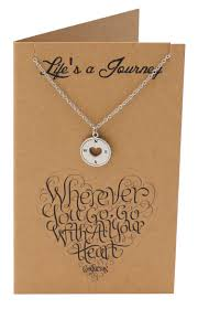 samara graduation gifts compass necklace inspirational jewelry