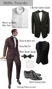 1920s men s evening wear history