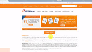icici credit card bill payment using