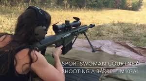 50 cal Barrett M107A1 - YouTube