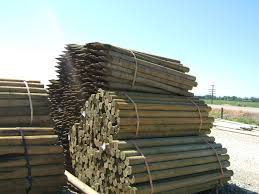 Agricultural Fencing Pressure Treated Fences Posts Parma Post And Pole