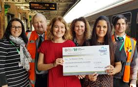 Railway lost property money donated to charity - West Midlands Trains