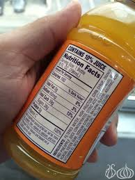 orange juice which one will you choose
