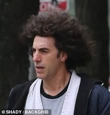 Sacha Baron Cohen transforms into social activist Abbie Hoffman for The  Trial of the Chicago 7 | Daily Mail Online