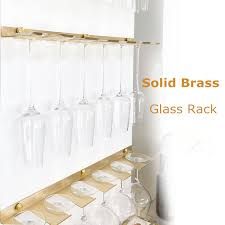 shelf hanger goblet rack wine rack