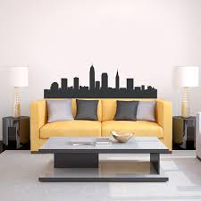 Cleveland Skyline Wall Art Cleveland Wall Decal Wallums