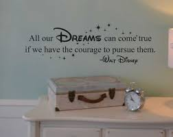 All Our Dreams Can Come True If Quote Disney Wall Decal Vinyl Etsy In 2020 Disney Wall Decals Disney Home Decor Vinyl Wall Lettering