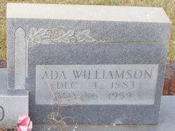 Ada Eugenia Williamson Boyd (1883-1959) - Find A Grave Memorial