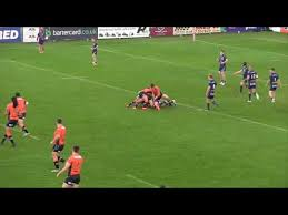 Luis Johnson Rugby League Highlights 2017 - YouTube