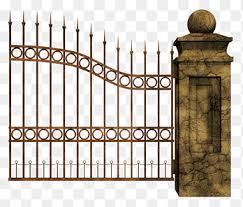 Gray Metal Gate Cemetery Halloween Graveyard Gate Happy Halloween Image File Formats Png Pngegg