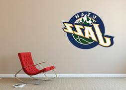 Utah Jazz Nba Bedroom Poster Wall Decal Art Sticker Decor Car Vinyl Sa35
