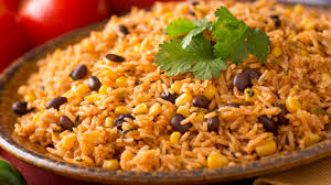SPICY MEXICAN RICE PILAF - Eats by the Beach